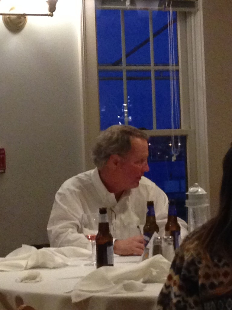 Bardell yakking. They are not all his beers.