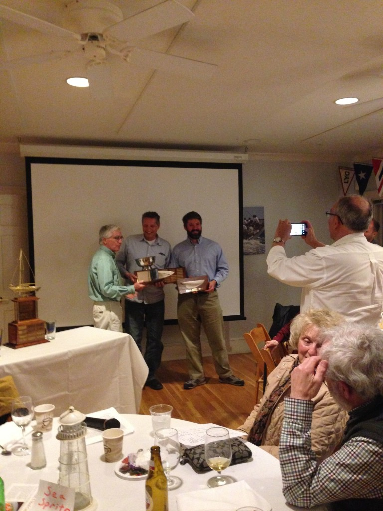The b oys sweep (almost) the sailing awards